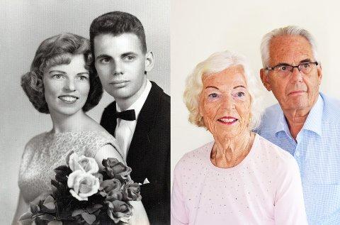 60 ÅR: Thorgunn og Sven Alexander giftet seg i Chicago for 60 år siden.