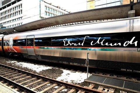 ØKER FARTEN: Snart kan du reise i 250 kilometer i timen med Flytoget. Nå har selskapet bestilt nye togsett.