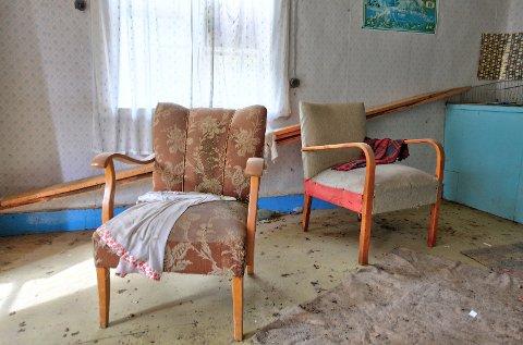 Gjengangere: Bildet er tatt i et forlatt hus i Sverige.