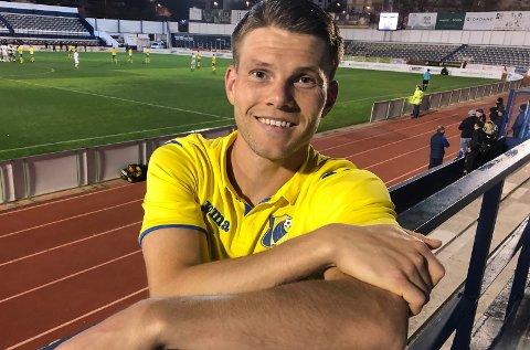 TIL LSK?: Bjørn Bergmann Sigurdarson kan bli LSK-spiller igjen i september.