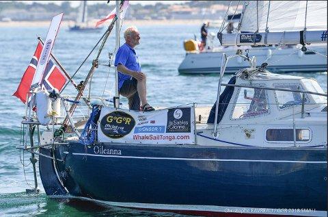 HYLLES: Are Wiigs erfaring og kompetanse som båttekniker kom god til nytte da han mistet masten i Sørishavet.