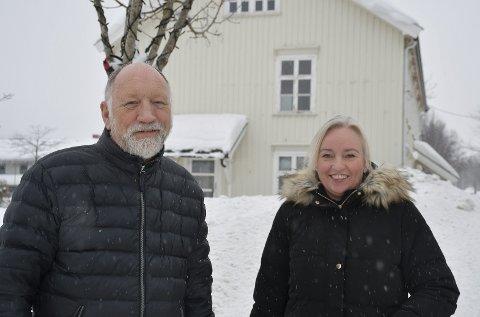 Inviterer alle med: Svein Steffensen og Heidi Tingedal Næss sitter i kulturrådet som nå ønsker å få med mange til årets kulturmaraton.  FOTO: Ingunn Håkestad Bråthen