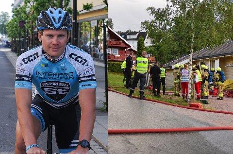 BRANNKONSTABEL: Ken-Levi Eikeland er én av 413 søker til tre fulltidsstillinger som brannkonstabel i Drammen.