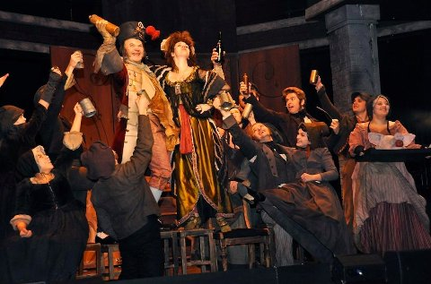 LES MISERABLES: I helgen spilles Les Miserables for siste gang i denne omgang i Sandnes.
