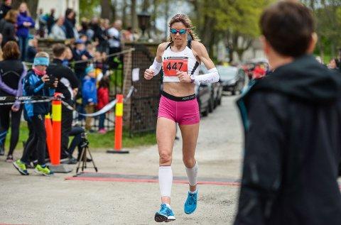 STERK: Dorte Foss fra Raufoss leverte et knalløp.