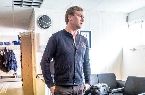 NY TRENER: Sportssjef Henrik Malmström håper at Sparta har en ny assistenttrener klar i løpet av kort tid.
