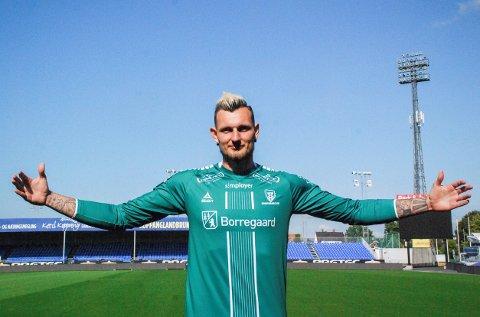 NY KEEPER: Alexandre Letellier blir utlånt til Sarpsborg 08 fra franske Angers.