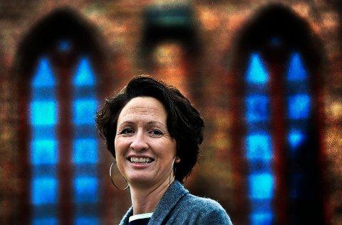Kari Mangrud Alvsvåg har fungert som prost i Søndre Borgesyssel prosti i åtte år. Nå har hun fått ny jobb. Arkivfoto: Jarl M. Andersen