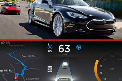 Tesla har tatt et stort steg mot å innføre selvkjørende biler.