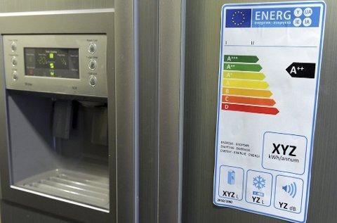 1 av 2 under 30 år ser ikke på energimerkingen av husholdningsartikler, ifølge en ny undersøkelse.  Foto: ANB Arkiv
