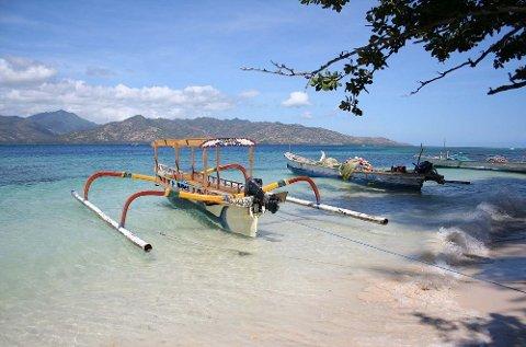 Jakten på den siste hvite flekken er i gang. her fra Lombok i Indonesia.