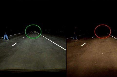 Godt billys er helt avgjørende for trafikksikkerheten. Det er stor forskjell på beste og dårligste bil i testen.