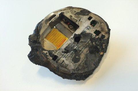 Den eneste røykvarsleren i huset hadde ikke batteri. Det endte på denne måten.