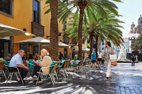 Mange nordmenn tar turen til Gran Canaria i juleferien.