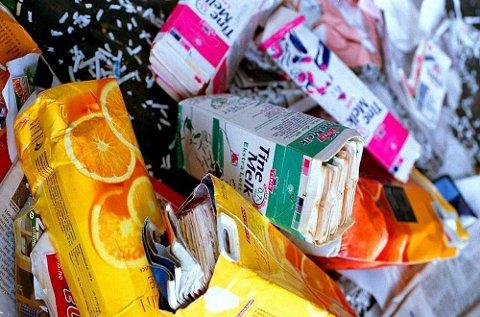 Bedre avfallssortering gir lavere klimagassutslipp.