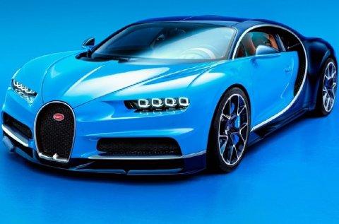 Bugatti flytter grenser. Her er bilen som både er sterkest, raskest og mest eksklusiv.