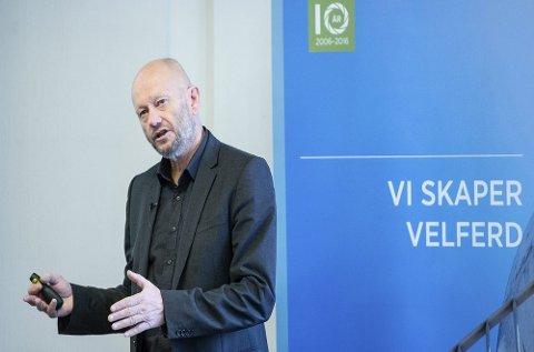 Administrerende direktør Stein Lier-Hansen i Norsk Industri la fredag fram forhandlingsposisjonen til Norsk Industri foran vårens tariffoppgjør.