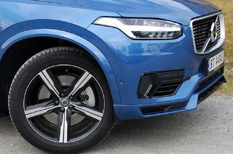Volvo leverte rekordtall i fjor, både på antall solgte biler og på bunnlinje. Dette er den  store SUV-en XC90.