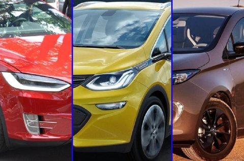 Det begynner å bli mange interessante elbiler på markedet, som har god rekkevidde. Tesla er fortsatt i særklasse, men de andre begynner å spise seg innpå .