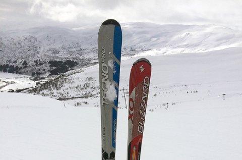 Skill skiene når du setter dem fra deg. Ulike ski blir ikke stjålet.