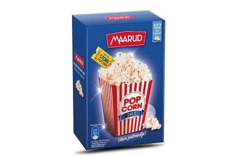Maarud tilbakekaller 3-pack popcorn for mikrobølgeovn.
