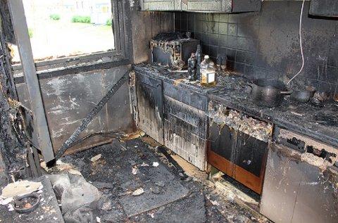 Nær halvparten av brannvesenets utrykninger i 2016 skyldtes komfyren.