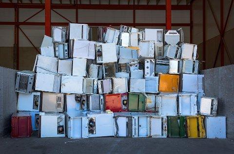 Norske kommuner skal premieres for gjenvinning av elektronisk avfall.
