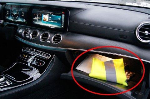 Alle biler skal være utstyrt med en refleksvest, og det er også et krav at den skal værer enkelt tilgjengelig fra førersetet.