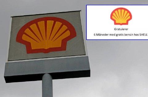Falske e-poster har gitt hodebry for Shell. Nå advarer de folk som har mottatt mailen der det lokkes med gratis bensin og diesel.