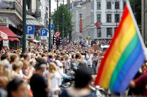 De fleste av oss er tolerante overfor barn og unge som står fram som homofile.