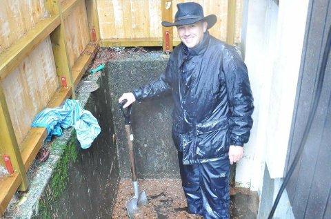 Arvid Steen hos Tryg Forsikring sier at mange nordmenn kommer til å bli rammet av flom i løpet av høsten.