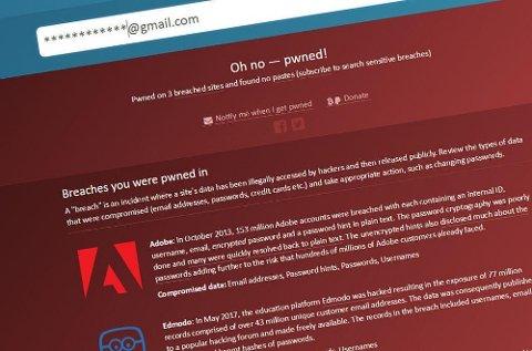 Sikkerhetssiden haveibeenpwnd.com har fått tak i den største lekkede e-postoversikten noen gang.