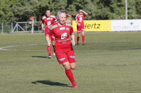 TIL SPANIA: Thea Bjelde skal til Marbella med det norske U23-landslaget i første halvdel av mars.