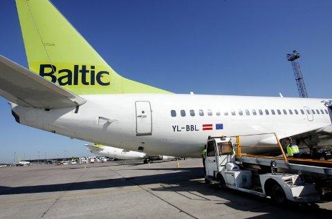 AirBaltic Cargo.