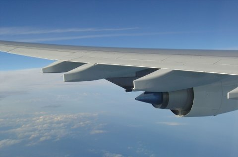 Pensjonistene fra Strand skulle benytte flyet som hadde nødlandet i Madrid.(Illustrasjnsfoto fra FreeImages.com)