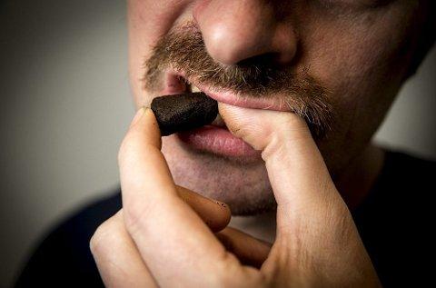Amerikanske helsemyndigheter fastslår at snus er langt mindre skadelig enn annen røykfri tobakk. (Foto: Erlend Aas, NTB scanpix/ANB)