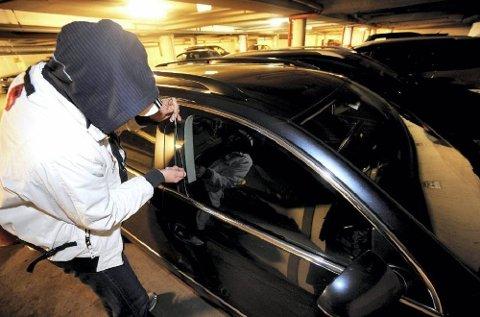Biltyver foretrekker premiummerkene, både når de skal stjele bilen og ved innbrudd. (Foto: ANB arkiv)