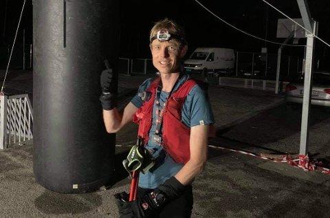 200: Skiensmannen Vegard Triseth (45) løp 200 kilometer på drøye 39 timer og knuste konkurrentene.