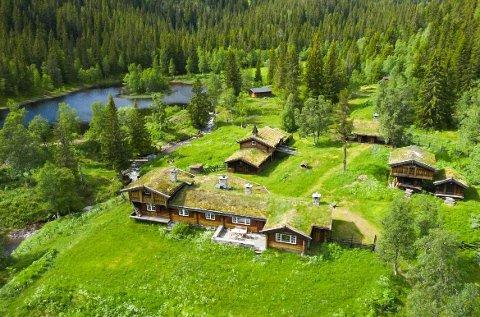 KONGSGÅRD: Gunnar Melsom bygget sin egen kongsgård i Telemark. Nå selger etterkommerne.