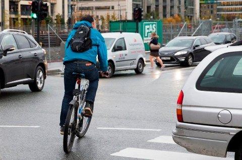 Helsegevinst: En ny undersøkelse viser at en av tre sykler til jobben. (Foto: NTB scanpix/ANB)