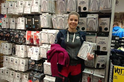 ULL ER GULL: Ull er rett og slett det eneste som duger om du skal på ski i kulda og samtidig bli skikkelig svett. På Sport 1 går ullvarene så det suser, kan Eirin Røraas Bakka og hennes medarbeidere fortelle.