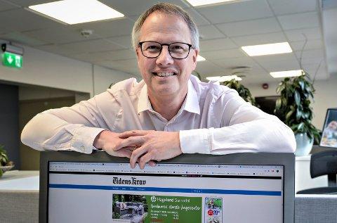 Ansvarlig redaktør og daglig leder i Tidens Krav, Ole Knut Alnæs.
