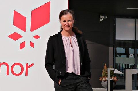 – Norskehavet er ett av de høyeste prioriterte område i Equinor når det gjelder letevirksomhet. Det er viktig å ha en basisaktivitet som er stabil, sier områdedirektør Kristin Westvik i Drift Nord Equinor.