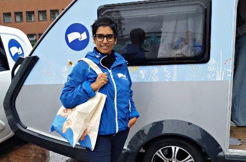Ingrid Kruse Fevåg vil heller drive valgkamp for Høyre enn for Arbeiderpartiet.