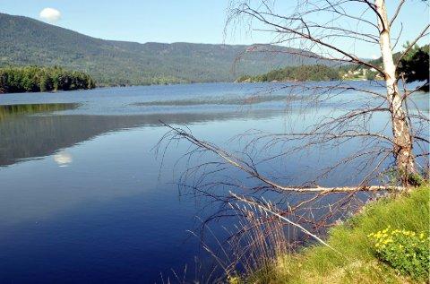 DRIKKEVANN: Mange vestfoldkommuner får vann fra Eikeren.