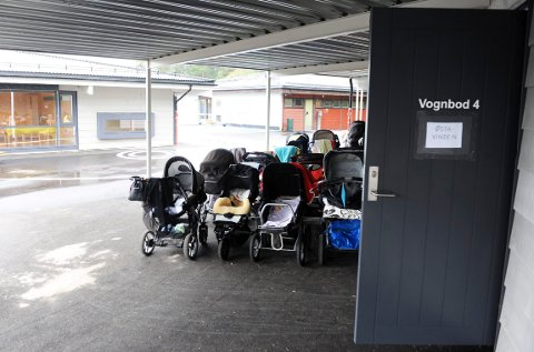 BARNEHAGENE: Kommunen kunne hatt råd til å øke bemanningen