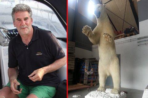 SOLGT! Michael Schmidt fikk solgt isbjørnen på rekordtid.