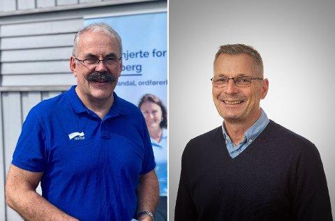 Bjørn Auglend og Frank Pedersen