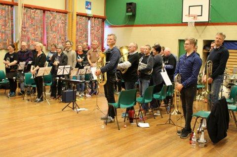 Valdres Brass Band er klare for Oslo Brassfestival.