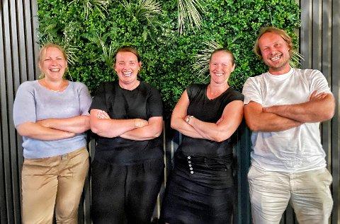 SKARPE LÆRERE:Vinnerlaget fra quizen på Mo torsdag; f.v. Marie Engseth Felde, Linda Tomtsveen, Marianne Molstad og Frode Marti.